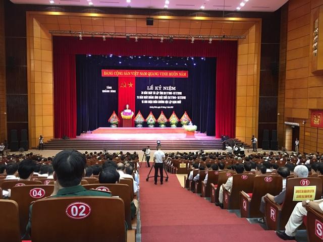 Quảng Bình đón nhận Huân chương Độc lập hạng Nhất dịp kỷ niệm 30 năm tái lập tỉnh - 1