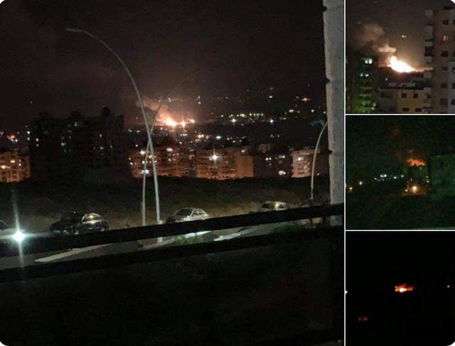 """Israel bị """"tố"""" không kích ồ ạt các mục tiêu gần thủ đô Syria - 1"""