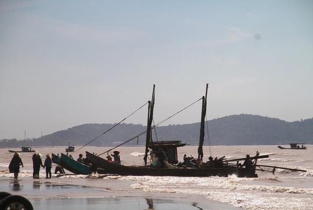 Ngư dân xứ Thanh kiếm tiền triệu nhờ trúng đậm moi - 2