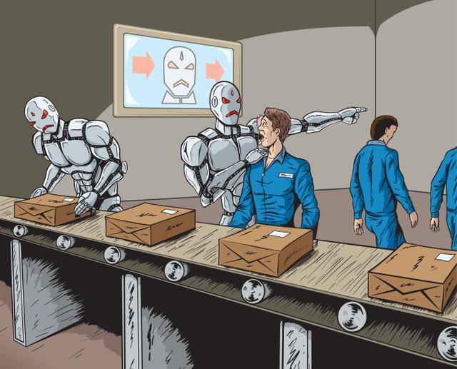 20 triệu người sẽ bị mất việc bởi robot vào năm 2030 - 1