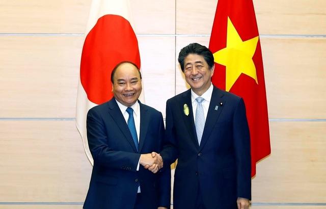 Thủ tướng Nguyễn Xuân Phúc hội đàm với Thủ tướng Nhật Bản Shinzo Abe - 1