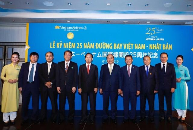 Vietnam Airlines kỷ niệm 25 năm đường bay Việt Nam - Nhật Bản - 1