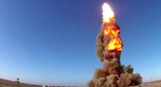 Video Nga khai hỏa tên lửa chống đạn đạo uy lực - 1