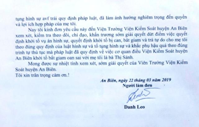 Công an tỉnh Kiên Giang yêu cầu báo cáo việc khởi tố treo cụ bà 90 tuổi! - 3