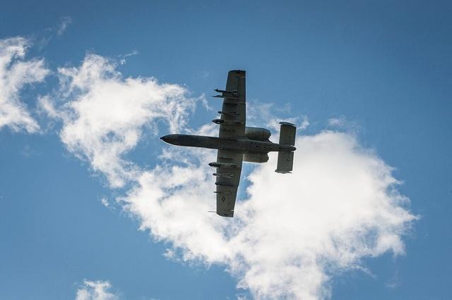 Máy bay chiến đấu Mỹ làm rơi 3 quả bom sau khi đâm phải chim - 1