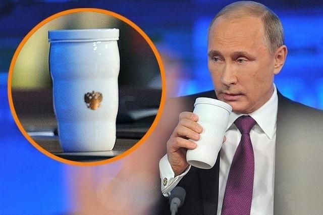 """""""Giải mã"""" chiếc cốc đặc biệt đi cùng ông Putin tới G20 - 3"""