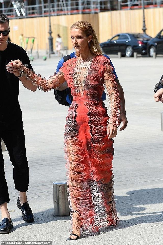 Celine Dion nổi bật tại tuần lễ thời trang Paris - 4