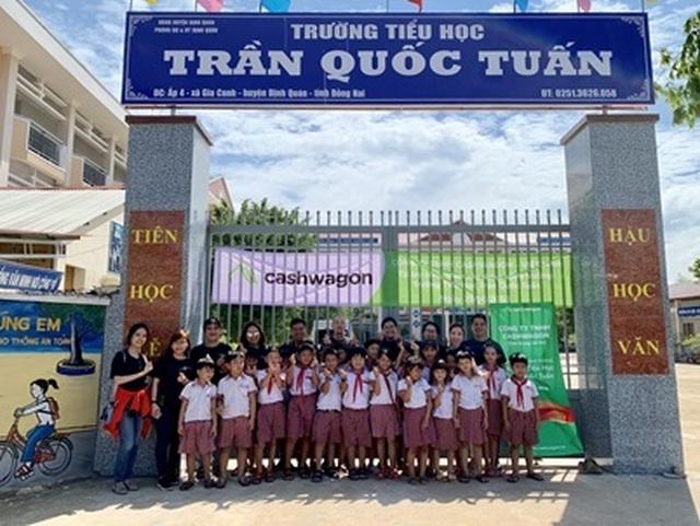 Cashwagon tài trợ xây cổng trường tại Đồng Nai - 2