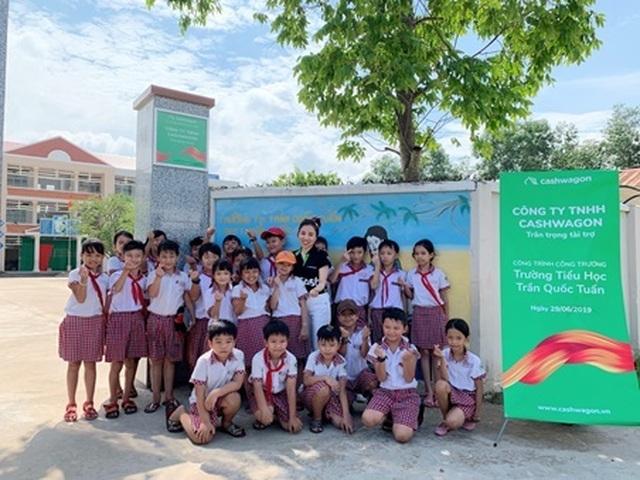 Cashwagon tài trợ xây cổng trường tại Đồng Nai - 4