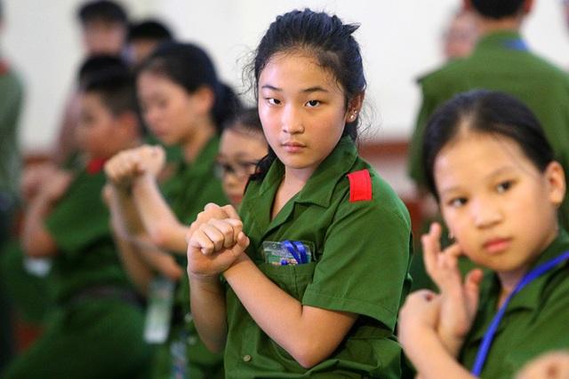Công an Hà Nội dạy trẻ em ứng phó tình huống bắt cóc, xâm hại - 7