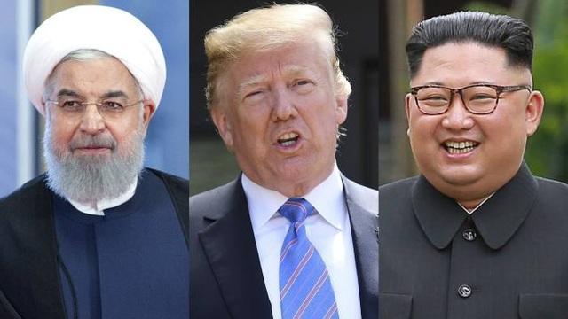 Vì sao ông Trump đàm phán với Triều Tiên nhưng dọa nạt Iran? - 1