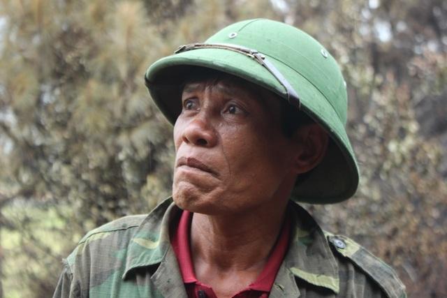 Người đàn ông đặc biệt trong vụ cháy rừng kinh hoàng ở Hà Tĩnh - 1