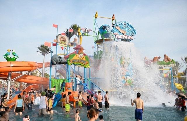 """Khám phá công viên nước Thanh Hà - """"Disneyland của Việt Nam - 6"""