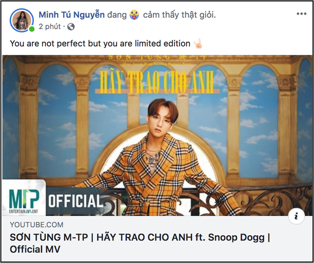 """Tranh cãi Sơn Tùng """"hát không rõ lời"""" trong MV được xem nhiều nhất 24 giờ qua - 5"""