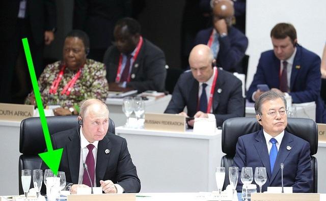"""""""Giải mã"""" chiếc cốc đặc biệt đi cùng ông Putin tới G20 - 2"""