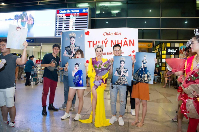 'Bầu show' Thúy Nhân nhận cú đúp Á hậu 2 và Ms được yêu thích nhất tại Ms International Business 2019 - 9