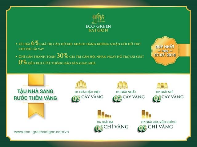 Ra mắt tòa M2 dự án Eco Green Saigon - 1