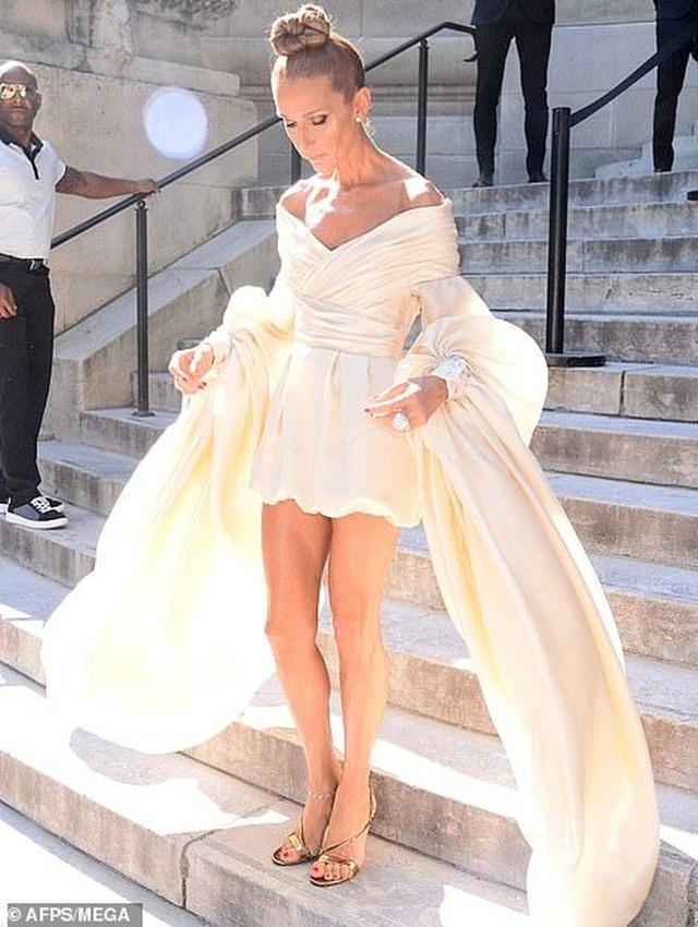 Celine Dion liên tục ghi điểm với gu thời trang sang trọng - 1