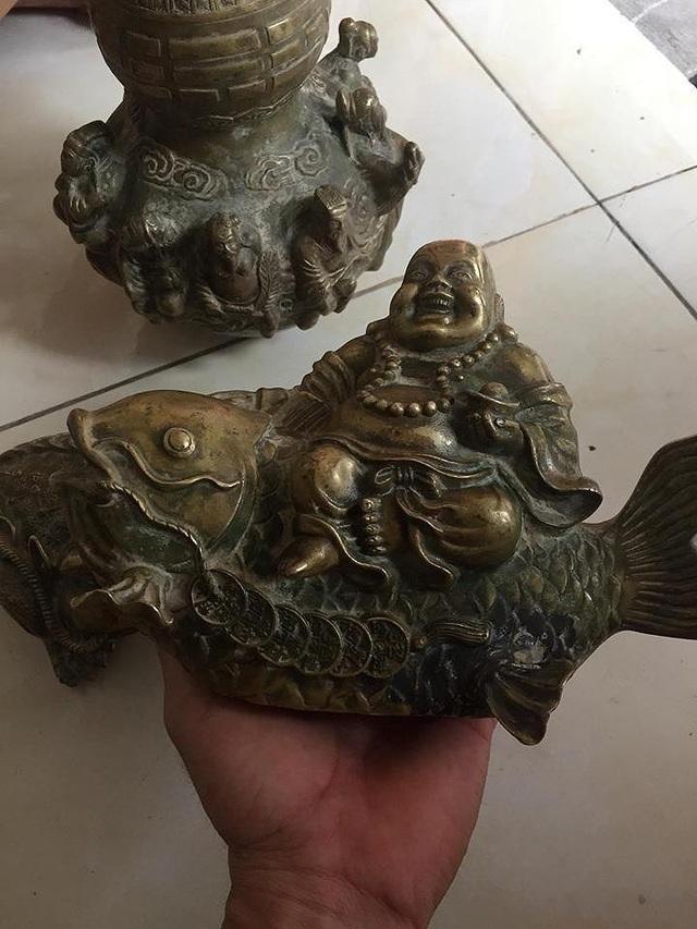 """""""Cổ vật"""" tìm thấy ở Núi Tàu chỉ là đồ giả cổ - 2"""