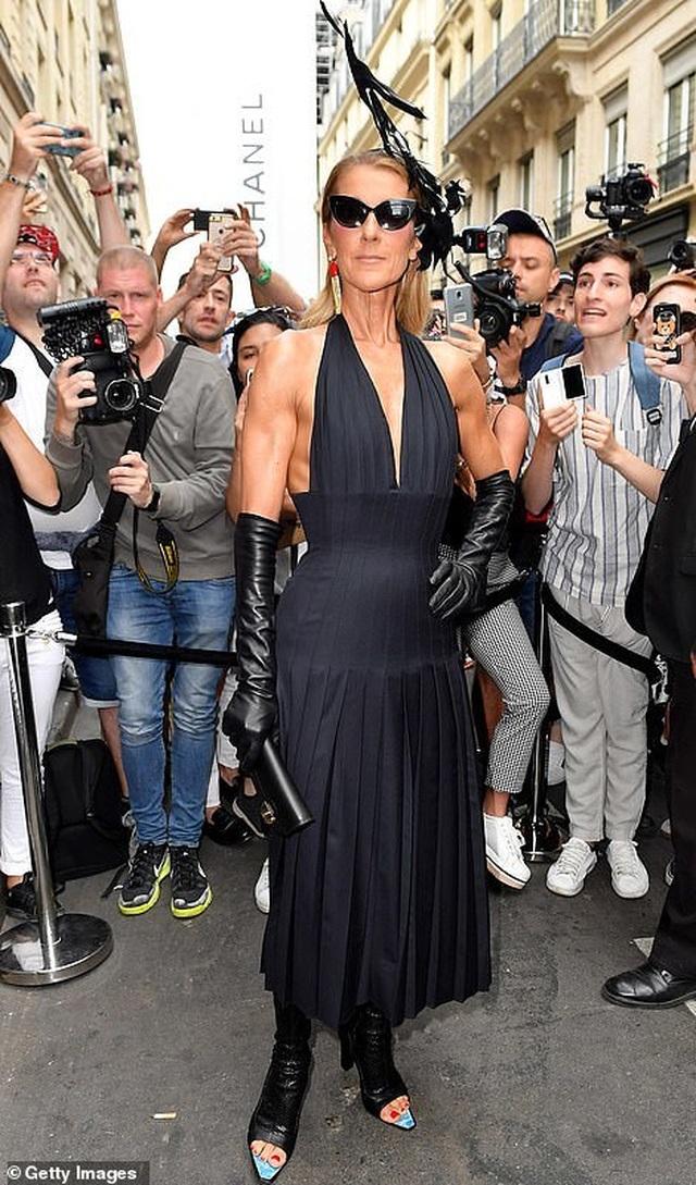 Celine Dion liên tục ghi điểm với gu thời trang sang trọng - 9