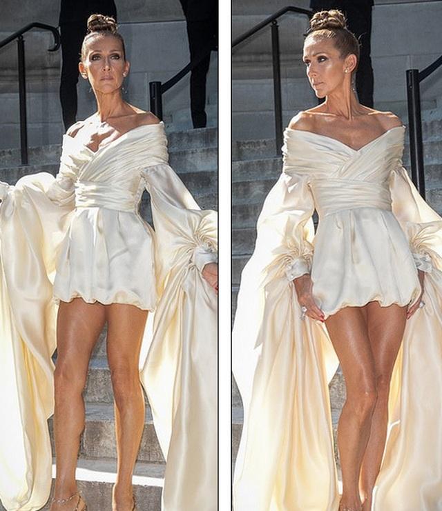 Celine Dion liên tục ghi điểm với gu thời trang sang trọng - 4