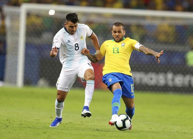 Brazil 2-0 Argentina: Jesus, Firmino đưa đội chủ nhà vào chung kết - 13