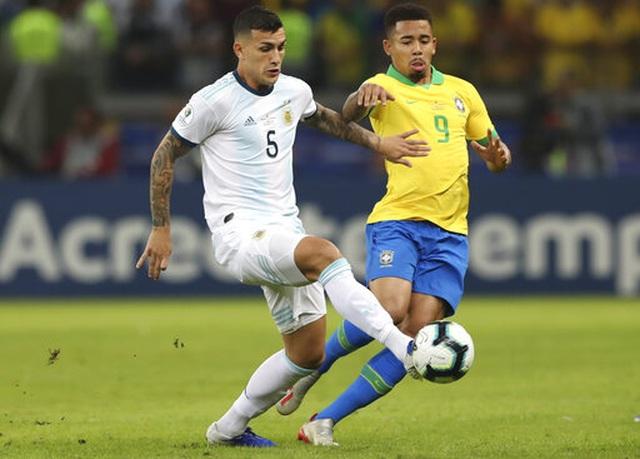 Brazil 2-0 Argentina: Jesus, Firmino đưa đội chủ nhà vào chung kết - 14