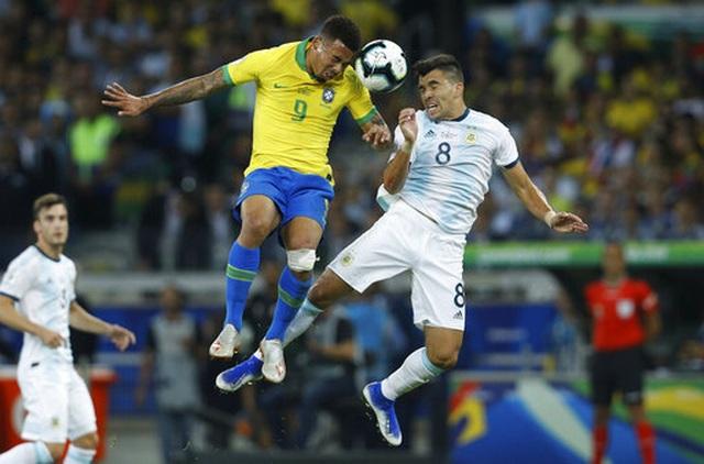 Brazil 2-0 Argentina: Jesus, Firmino đưa đội chủ nhà vào chung kết - 10
