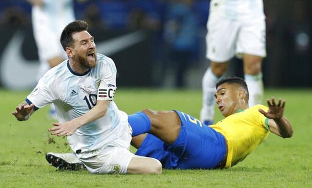 Brazil 2-0 Argentina: Jesus, Firmino đưa đội chủ nhà vào chung kết - 8