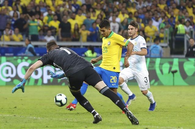 Brazil 2-0 Argentina: Jesus, Firmino đưa đội chủ nhà vào chung kết - 4