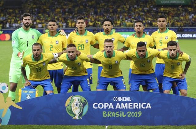 Nhìn lại chiến thắng ngọt ngào của Brazil trước Argentina - 1