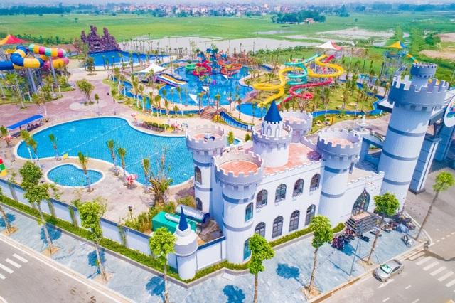 Công viên nước Thanh Hà gây sốt trên mạng xã hội - 2