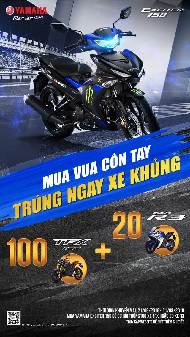 Cơ hội sở hữu siêu môtô thể thao TFX và R3 khi mua Yamaha Exciter - 3