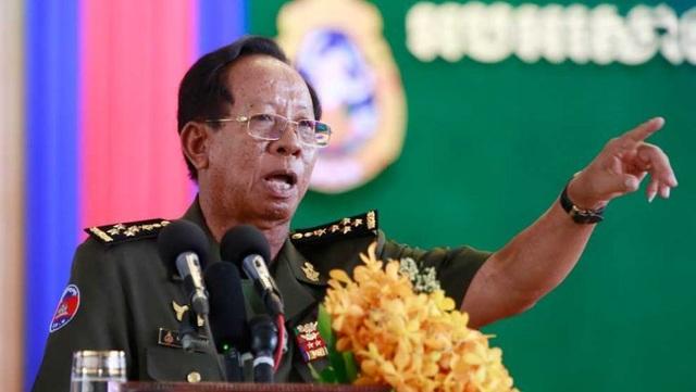 """Campuchia bác tin từ chối ý tốt của Mỹ để """"bắt tay"""" với Trung Quốc - 1"""