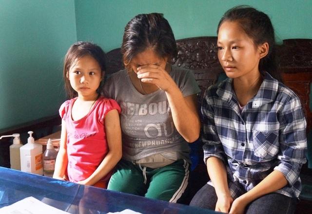 Bố bị bò húc chết, mẹ lâm bệnh nặng,3 đứa trẻ mịt mờ tương lai - 5