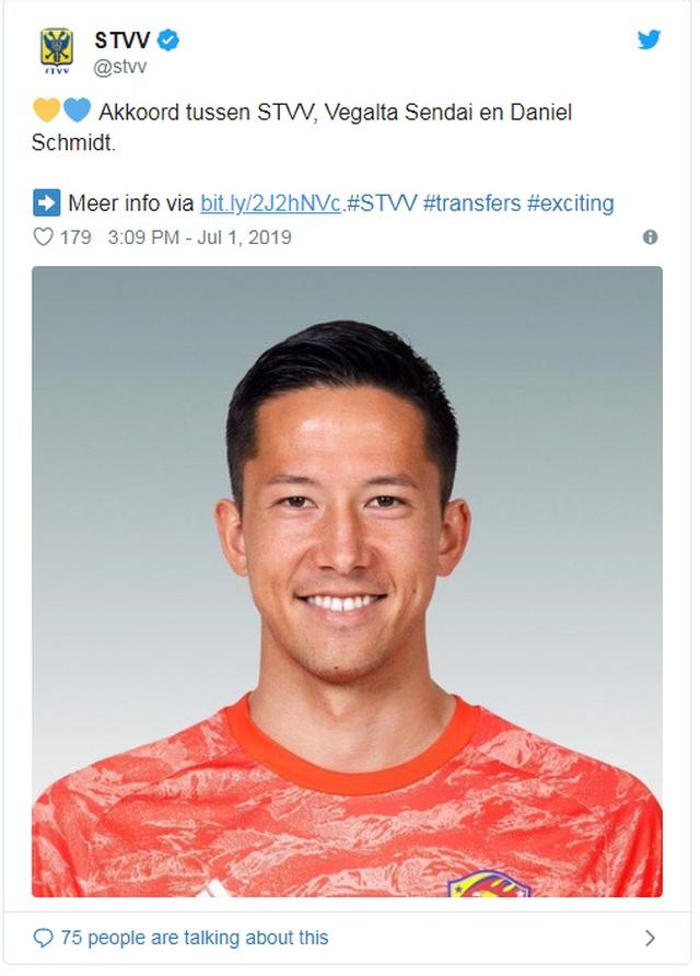 Sint-Truidense chiêu mộ thủ môn tuyển Nhật Bản, chờ Công Phượng - 1