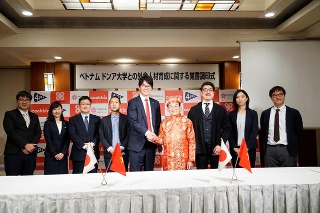 Hợp tác tạo chuỗi giá trị nghề nghiệp và việc làm quốc tế cho sinh viên ĐH Đông Á - 1
