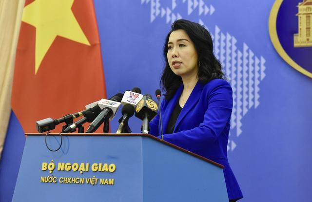 Việt Nam trao công hàm phản đối Trung Quốc tập trận tại Hoàng Sa - 1