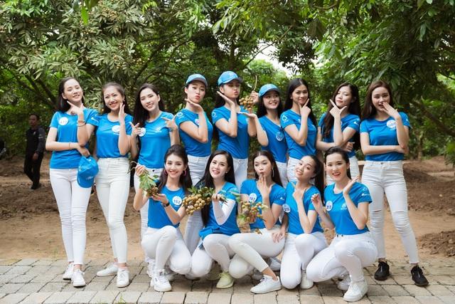 Hoa hậu Đỗ Mỹ Linh cùng dàn người đẹp Miss World Vietnam hội tụ ở xứ nhãn - 20