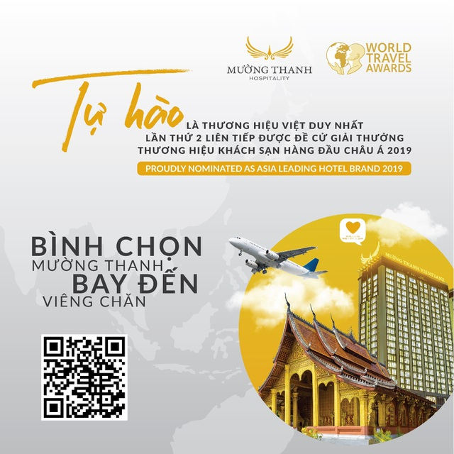 Mường Thanh tiếp tục lọt đề cử  Thương hiệu khách sạn hàng đầu Châu Á 2019 của WTA - 2