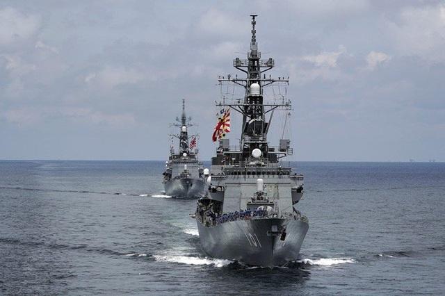 Nhật Bản lần đầu tăng hiện diện quân sự ở biển Đông - 1