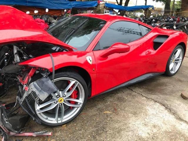 Siêu xe Ferrari từng bị tai nạn nát đầu của ca sĩ Tuấn Hưng giờ ra sao? - 5