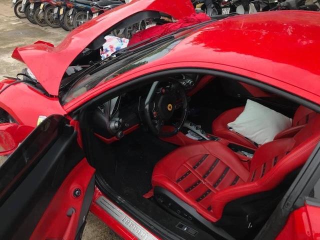 Siêu xe Ferrari từng bị tai nạn nát đầu của ca sĩ Tuấn Hưng giờ ra sao? - 4