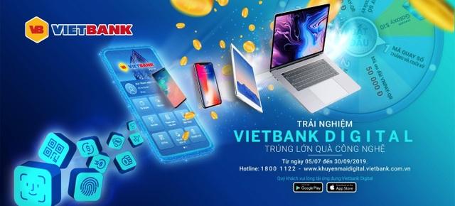 Vietbank khuyến mãi lớn nhân dịp ra mắt Mobile Banking Vietbank Digital - 1