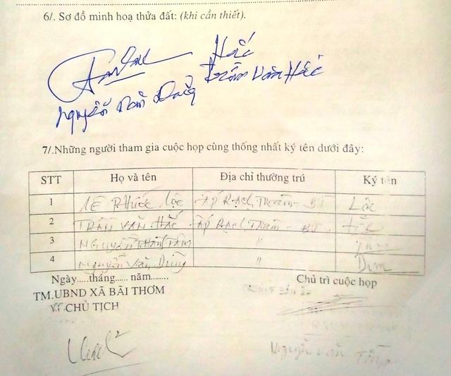 Bài 10: Huyện Phú Quốc kiểm tra, người dân đồng loạt khẳng định bị giả mạo chữ ký! - 2