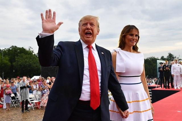 """Lễ kỷ niệm Quốc khánh Mỹ """"tâm huyết"""" của ông Trump: Tán dương và tranh cãi - 1"""