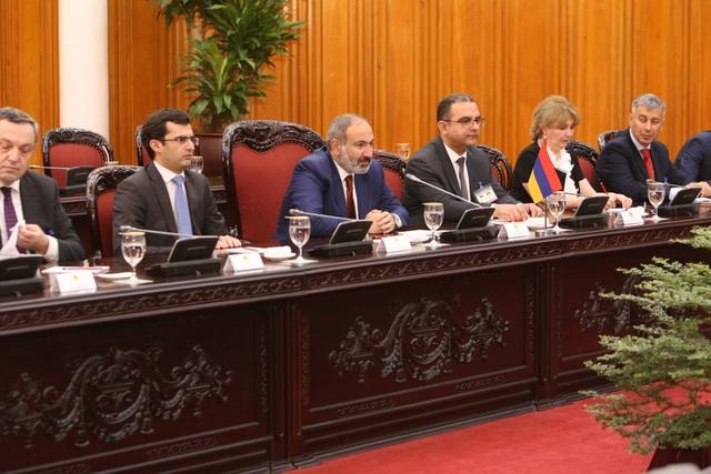 Thủ tướng Armenia muốntạo bước ngoặt về chất trong quan hệ với Việt Nam - 3