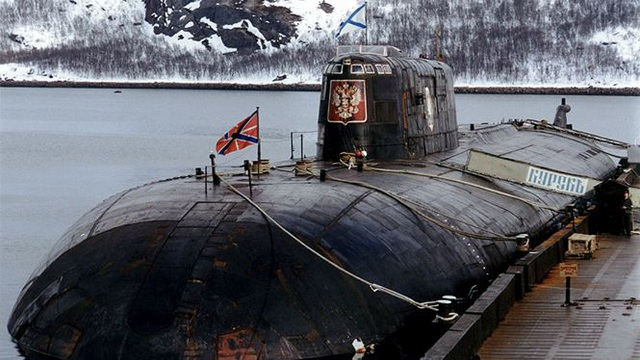 The five worst catastrophic submarine accidents in history Russia - 3