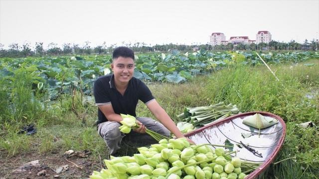 Khởi nghiệp từ trồng sen - 1