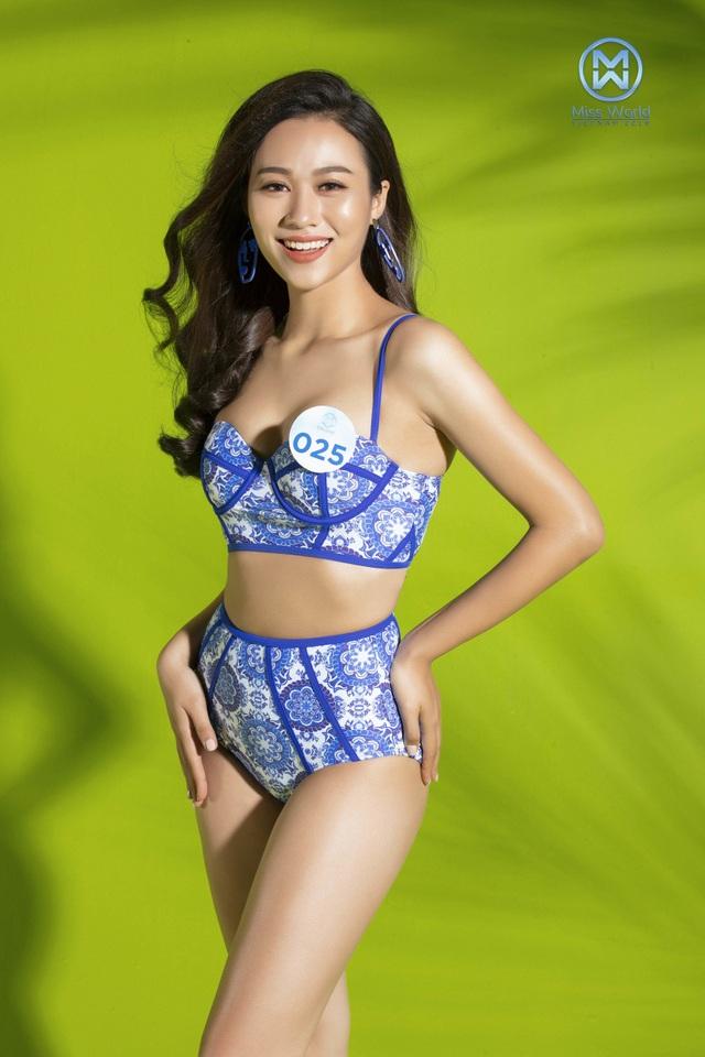 34 người đẹp Miss World khoe hình thể nóng bỏng trong trang phục bikini - 11